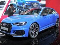Audi RS4 Avant:  retour aux sources - En direct du salon de Francfort 2017