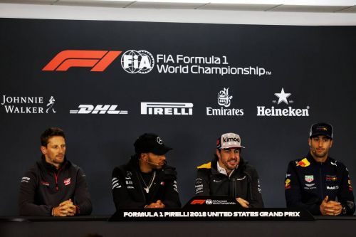 US Grand Prix: Thursday's build-up in pictures