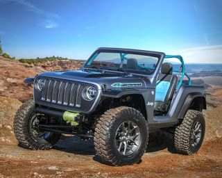 Moab Easter Jeep Safari 2018, le programme