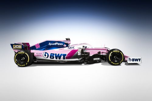 Racing Point F1 unveils new livery and title sponsor!