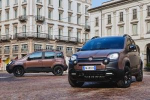 La Fiat Panda City Cross en version chic Trussardi