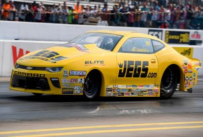 Dragster - Avantage Jeg Coughlin Jr. après les qualifications