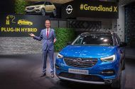 Francfort 2017:  Opel Grandland X hybride rechargeable