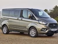 Ford : restylage pour les Tourneo Custom et Transit Custom
