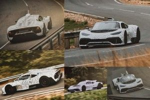 Mercedes-AMG teste sa Project One