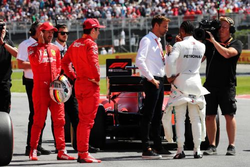 Button sees 'better relationship' between Ferrari drivers in 2020