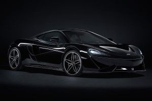 McLaren 570GT Black Collection:  noir c'est noir
