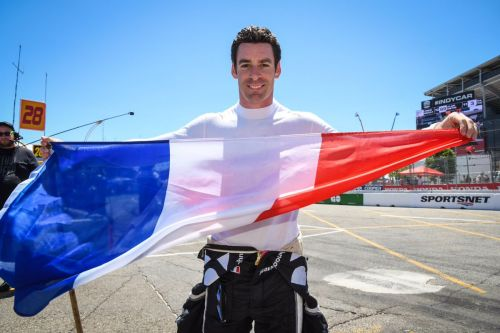 Pagenaud celebrates Bastille Day in Toronto!