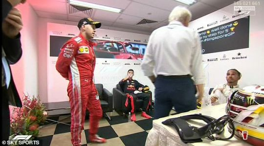 Why did Charlie Whiting apologise to Lewis Hamilton?