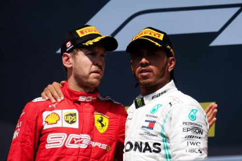 Hamilton says 'favourite battles' in F1 were with Vettel