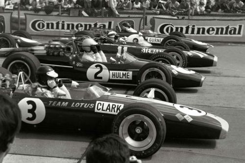 Back in the days when four was a crowd in Formula 1
