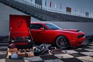 Le prix de la Dodge Challenger SRT Demon (2017)