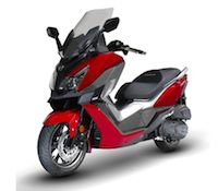 Sym CruiseSym 300:  disponible au tarif de 5499 €