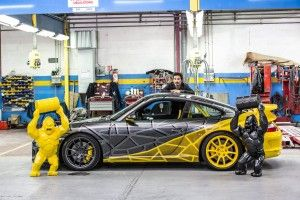 "Porsche:  une 911 ""art car"" par Richard Orlinski"