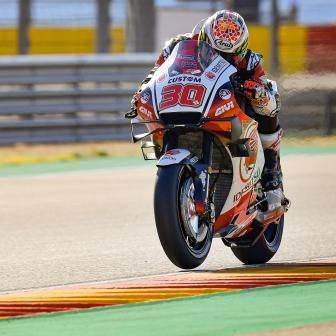 GP d'Aragón:  Nakagami brille au warm-up !