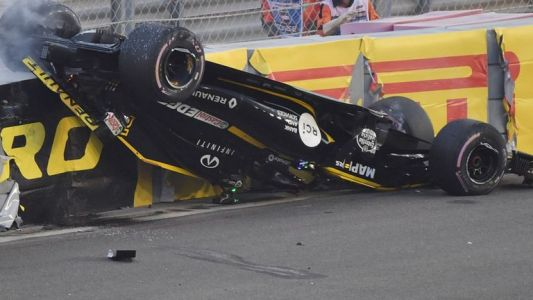 Wolff concerned about Halo after Hulkenberg accident