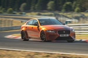 Jaguar XE SV Project 8 (2019):  l'envers du record