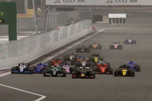 Renault's Zhou stars in chaotic Virtual Bahrain Grand Prix!