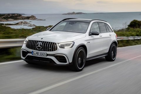 New York:  Mercedes-AMG GLC 63 4MATIC+