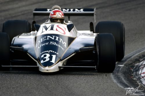 Eddie Cheever - the American with the most Grand Prix starts