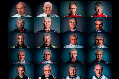 F1 grid gets the striking FaceApp treatment!