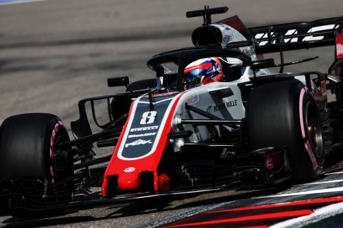 Grosjean 'proud' of progress made by Haas in 2018