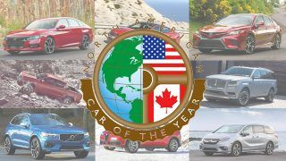 North American Car Of The Year, les finalistes