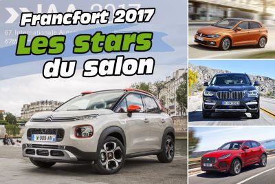 Salon Francfort 2017:  les stars du salon IAA 2017 en images