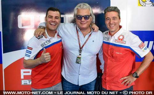 MotoGP:  Fonsi Nieto, coach technique du team Pramac en 2018 et 2019