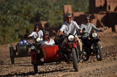 Raid Grand Sud au Maroc en side-car