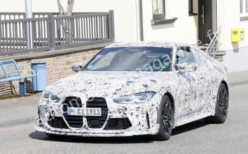 La future BMW M4 CS/CSL déjà surprise sur la route