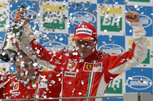 Eleven years ago today, the day belonged to Kimi