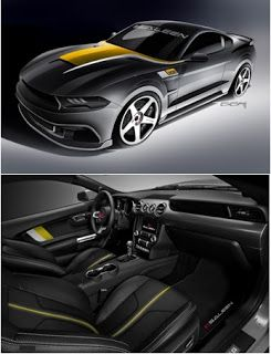 2019 35th Anniversary Edition Saleen Mustang, comme son nom l'indique