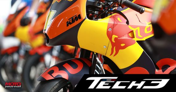 Moto GP:  Le team Tech3 signe officiellement chez KTM