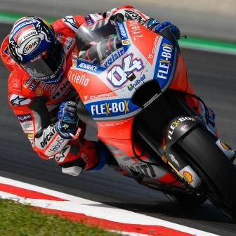 GP de Catalogne : Dovizioso brille au warm-up