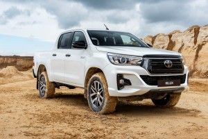 "Le Toyota Hilux en version ""Special Edition"""