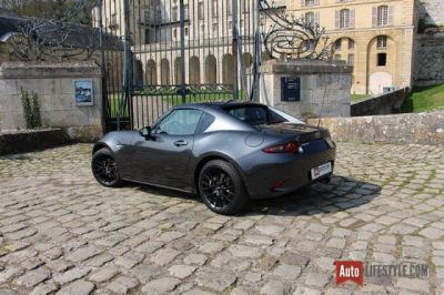 Essai:  Mazda MX-5 RF First Edition 2.0 Skyactiv-G 160 ch