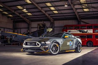 Oshkosh 2018, Ford détaille sa Eagle Squadron Mustang GT