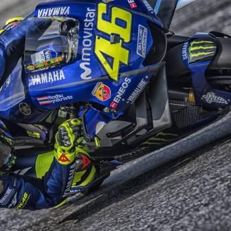 Rossi animé par un certain optimisme avant le Japon