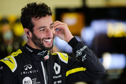 Ricciardo 'fired up' to conclude 'unfinished business' in Bahrain
