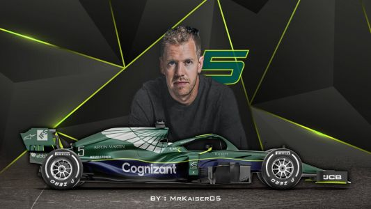 Vettel gets the ball rolling at Aston Martin