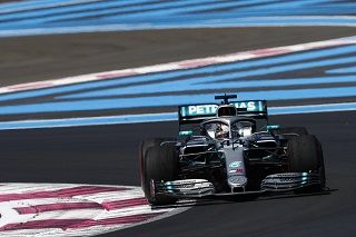 France - Qualifications:  Hamilton frappe fort, Vettel en perdition