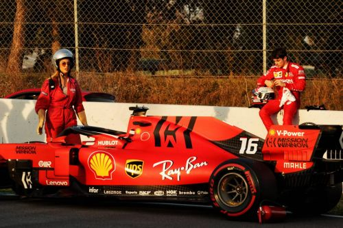 Ferrari restores 'Mission Winnow' branding for Bahrain
