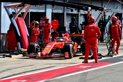 Struggling Vettel 'couldn't see' Stroll when rejoining track