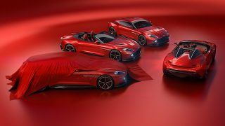 Aston Martin Vanquish Zagato Speedster et Shooting Brake