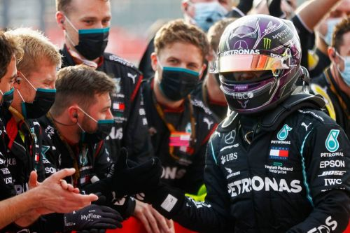 Hamilton: Team title 'almost as exciting' as drivers' crown