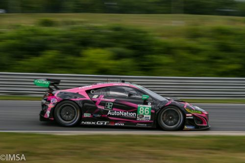 Lime Rock, Qualifications:  Porsche et Acura en pole !