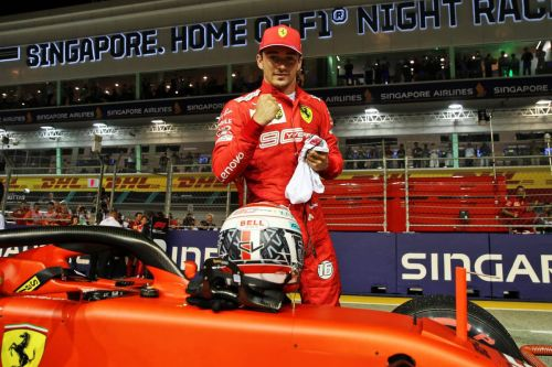 Leclerc 'lost control' on way to surprise Singapore pole