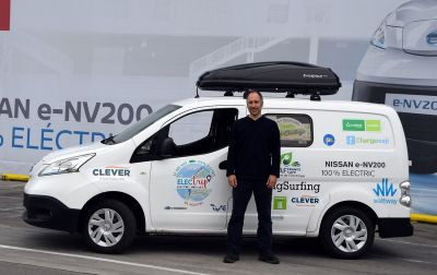 Tour d'Europe 100% électrique, le Nissan e-NV200 part en electrip !