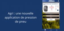 Mitas lance son application de pression de pneu agricole